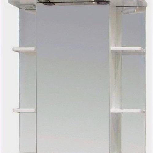 Шкаф-зеркало Глория 60.01 правый/левый