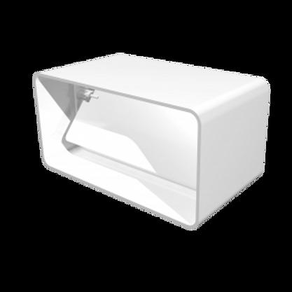 511СКПО Соединитель прямоугольных воздуховодов с обратным клапаном 55х110