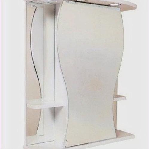 Шкаф-зеркало Фигура 55.01 левый