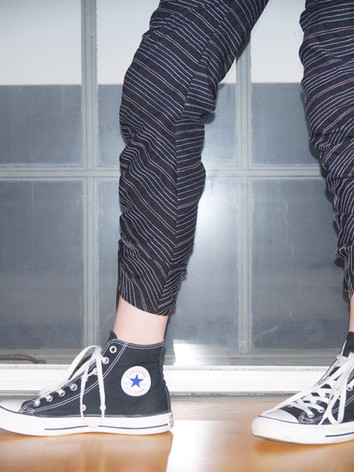 The Peekaboo Pinstripe Pantaloons