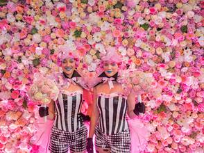 Candy Crush 50m2 aan echte bloemenmuur en nog veel meer