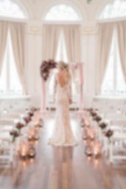 Bruiloft op maat gedecoreerd