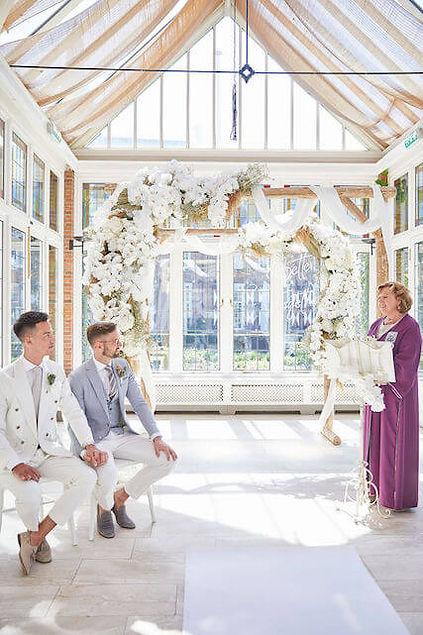 Exclusieve feestdecoratie bruiloft