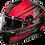 Thumbnail: Castle X Thunder 3 SV Pitlane Snowmobile Helmets