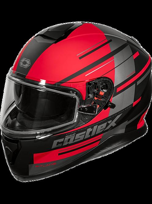 Castle X Thunder 3 SV Pitlane Snowmobile Helmets