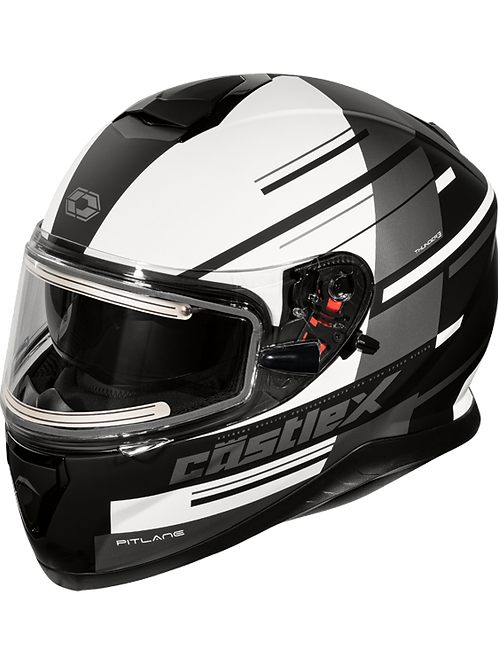 Castle X Thunder 3 SV Pitlane Electric Snowmobile Helmets