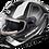 Thumbnail: Castle X Thunder 3 SV Trace Electric Helmets