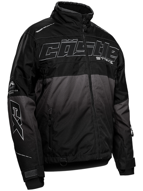 Castle X Strike Jacket Charcoal/Black 3Xl/4xl