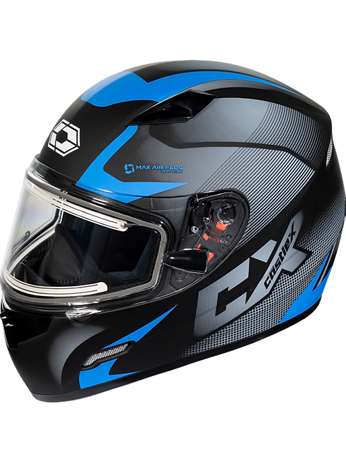 Castle X Mugello Squad Electric Snowmobile Helmets