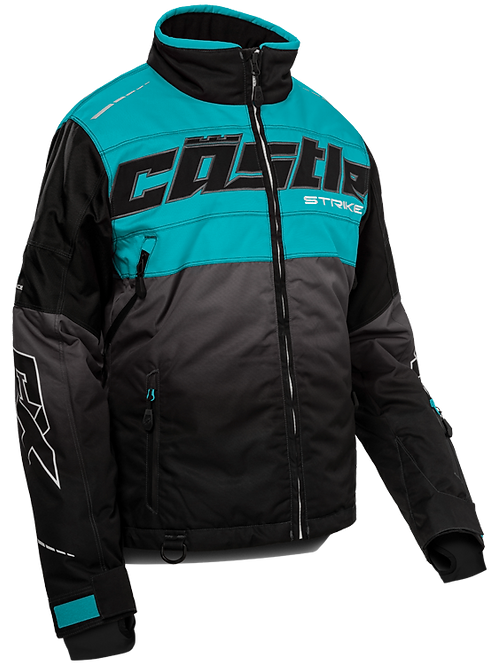 Castle X Womens Strike G3 Jacket Turquoise/Black