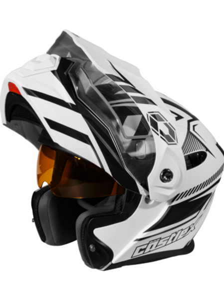 Castle X EX0-CX950 Slash White Electric Helmets