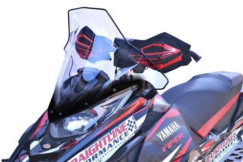 Powermadd Cobra Windshield Yamaha SR Viper/Sidewinder 14-19