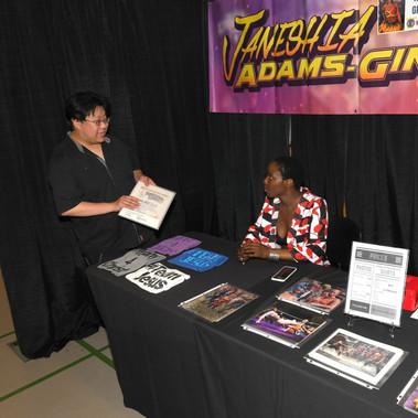 Special Guest Janeshia Adams Ginyard