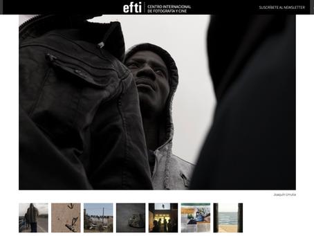 Publicación en EFTI Centro Internacional de Fotografía y Cine