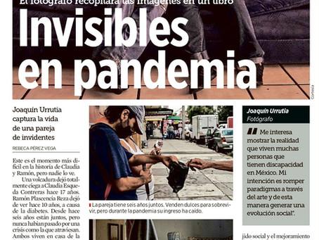 Aroma con Sabor a Pandemia publicado en el periódico El Mural