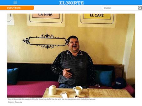 """Artículo en el periódico El Norte sobre """"Oscuridad Cristalina"""""""