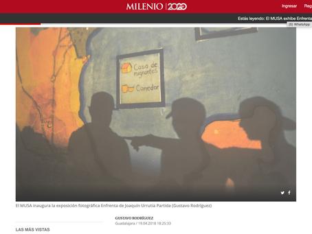 Artículo en el periódico Milenio sobre mi exposición en el MUSA