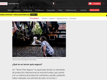 Artículo Publicado en Animal Politico, escrito por Mauricio Olivares-Méndez y Radu-Mihai Triculescu
