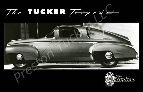 "1946 Tucker Torpedo 11"" x 17"" Poster"