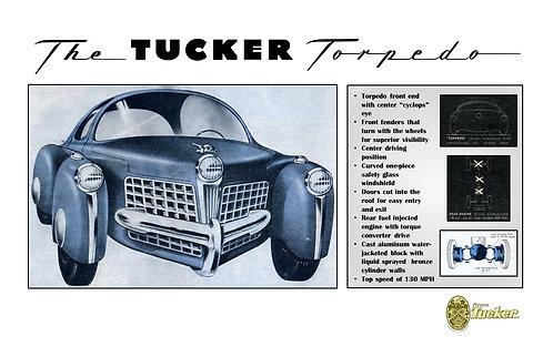 Torpedo Specification Sheet
