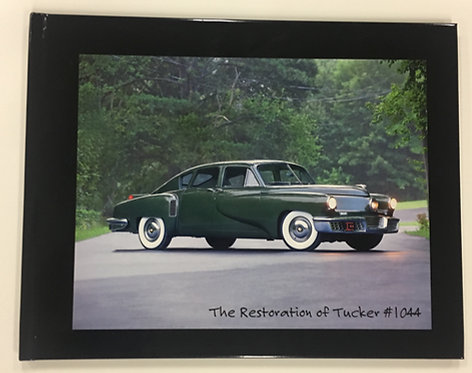 """The Restoration of Tucker 1044"" Hardbound Coffee Table Book"