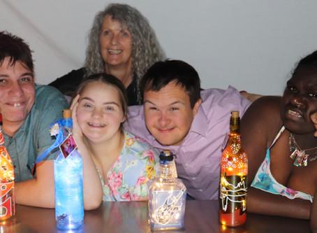 First Bottle of Lights, Meet the Artist Event- a sell out!