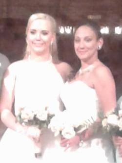 Patricia and Arianna church wedding 3 11 11 17