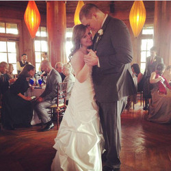 Cam and Kenzie first dance at their reception