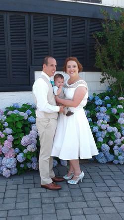 Wedding Sarah and Tim with Garrett 4