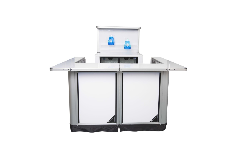 1 stasjon m/ høy backbar