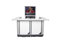 1 stasjon m/ TV backbar