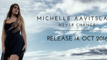 "NY SINGLE ""NEVER CHANGE"" UTE 14. OKTOBER!"