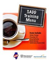 SADD Training Menu