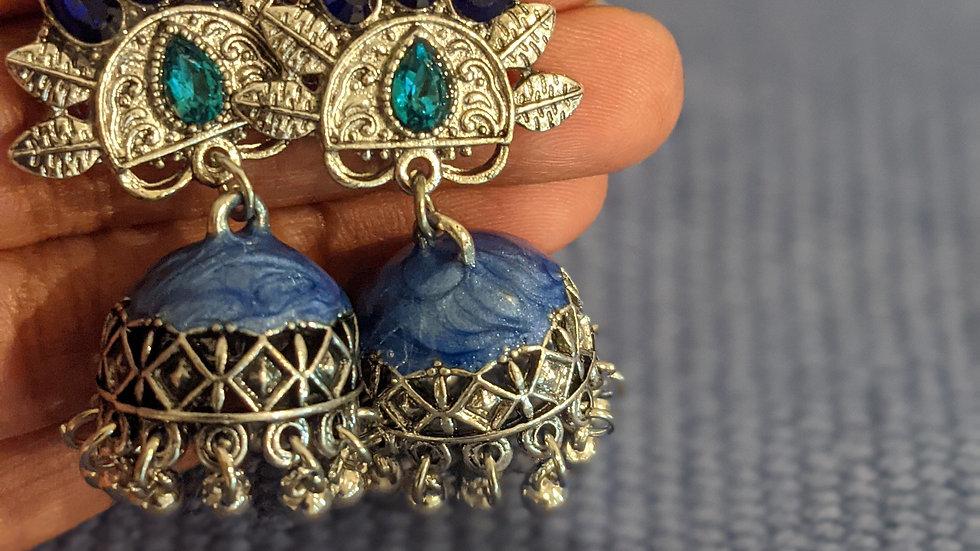 Oxidized Jewelry Earring Set