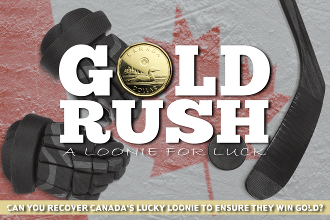 Gold Rush Loonie for Luck - Mysterious M