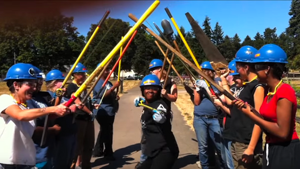Oregon Tradeswomen's Call Me Maybe video