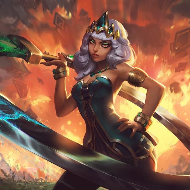 League of Legends - Qiyana Campaign