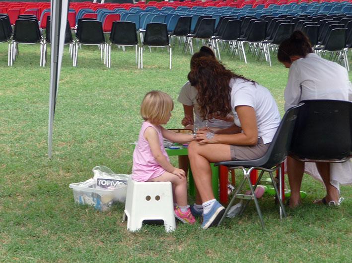 Uno spazio per i bambini