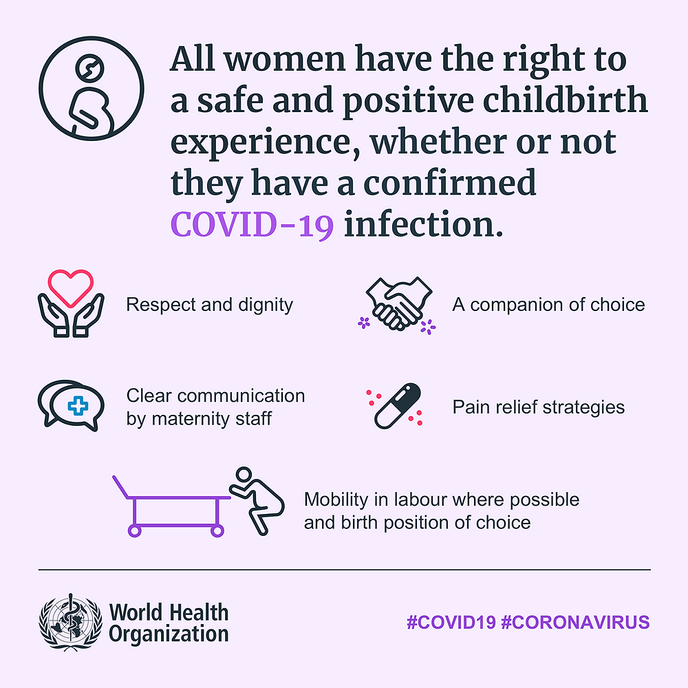 Covid resources from WHO