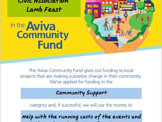 Lamb Feast - Vote for us in the Aviva Community Fund