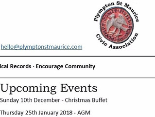 Plympton St Maurice Civic Association Newsletter