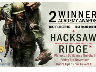 Hacksaw Ridge Popping Up in Plympton St Maurice