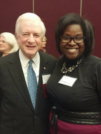 Governor Hunt and Nimasheena