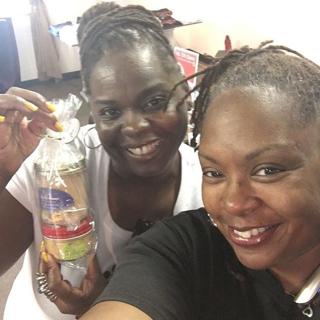 Ms . Tj's has another happy customer at
