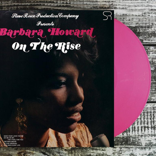 Barbara Howard On The Rise Pink Vinyl