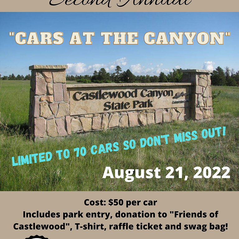 """Second Annual """"Cars at the Canyon"""""""