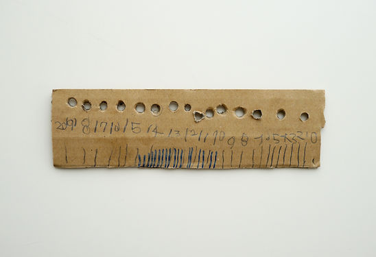 Paper Ruler by Child