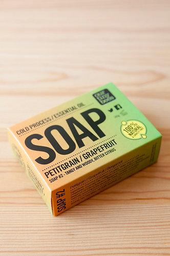 Our Tiny Bees Soap - Petitgrain/Grapefruit