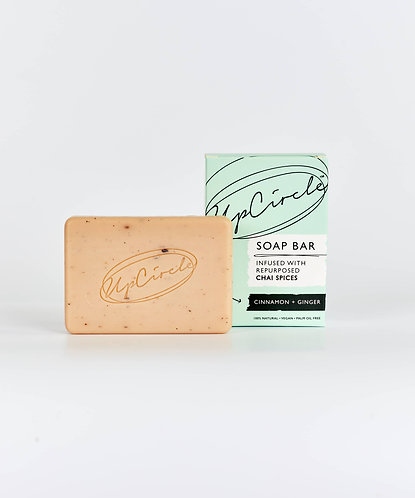 Organic Cinnamon + Ginger Chai Soap Bar