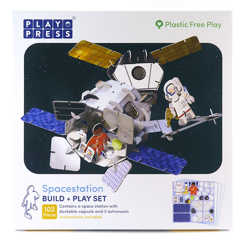 Playpress Toys - Space Station Play Set